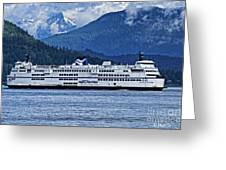B.c. Ferries Greeting Card