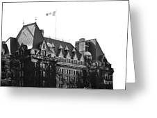 Bc Parliament Greeting Card