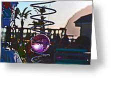 Beach Ball Greeting Card