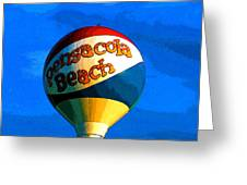 Beach Ball Greeting Card
