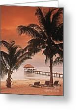 Beach Belize Greeting Card