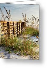Beach Boardwalk Greeting Card