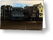 Beach Buildings - Greeting Card Greeting Card