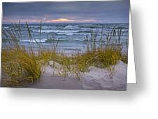 Beach By Holland Michigan No 0192 Greeting Card