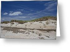 Beach Dunes Greeting Card