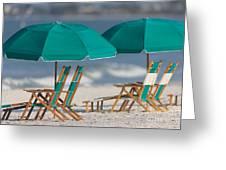 Beach Furniture I Greeting Card