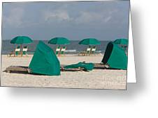 Beach Furniture II Greeting Card