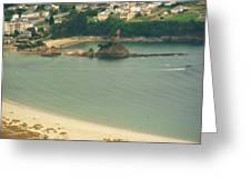 Beach In Galicia Greeting Card by Jenny Senra Pampin