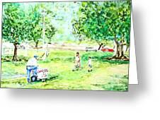 Beach Park  Greeting Card