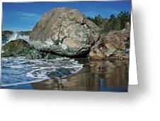 Beach Rock Greeting Card
