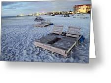 Beach Side Greeting Card