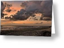 Beach Sunrise Obx  - C0983d Greeting Card