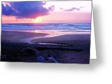 Beach Time Greeting Card by Deahn      Benware