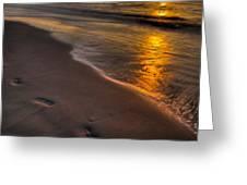 Beach Walk - Part 2 Greeting Card