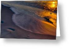 Beach Walk - Part 3 Greeting Card