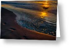 Beach Walk - Part 4 Greeting Card