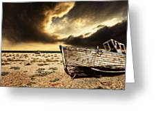 Beached In Color Greeting Card