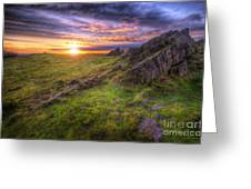 Beacon Hill Sunrise 11.0 Greeting Card