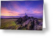 Beacon Hill Sunrise 2.0  Greeting Card