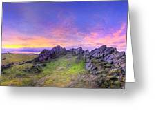 Beacon Hill Sunrise 3.0 Pano Greeting Card