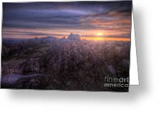 Beacon Hill Sunrise 4.0 Greeting Card