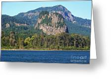 Beacon Rock Standing Tall Greeting Card