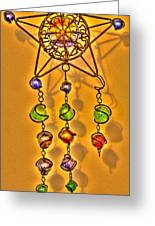 Beads Greeting Card