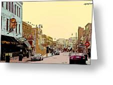 Beale Street Greeting Card