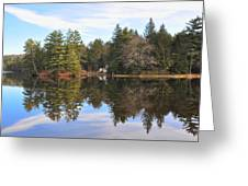 Bear Creek Lake Greeting Card
