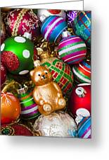 Bear Ornament Greeting Card