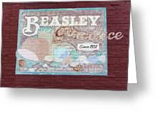 Beasley Produce Since 1931 Greeting Card