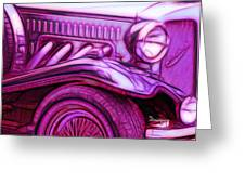 Beauford Classic Tourer Greeting Card