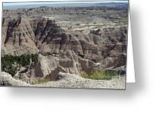 Beautiful Badlands Greeting Card