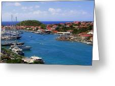 Beautiful Gustavia Greeting Card