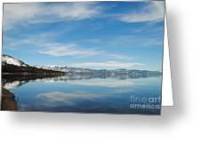 Beautiful Lake Tahoe Greeting Card