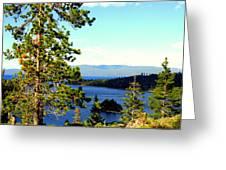 Beautiful Tahoe Greeting Card