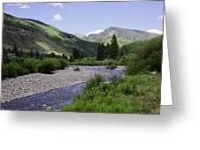 Beautiful Vail - Colorado Greeting Card