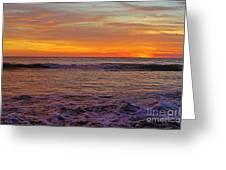 Beautiful Waves Greeting Card