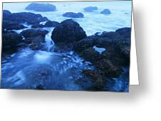 Beauty In The Ebb And Flow Greeting Card