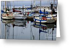 Beauty Of Boats Greeting Card