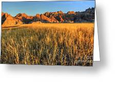 Beauty Of The Badlands Greeting Card