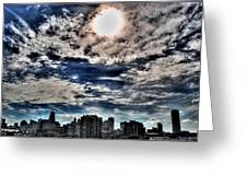 Beauty Of The Morning Sky Greeting Card
