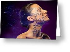 Beauty Puzzles Greeting Card