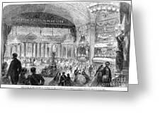 Beaux Arts Ball, 1861 Greeting Card