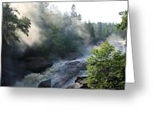Beaver River Fog4 Greeting Card