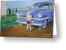 Bebe 1953 Greeting Card