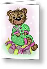 Becky Bear Greeting Card