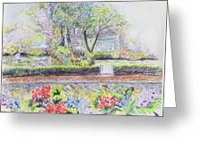 Bed And Breakfast View Greeting Card