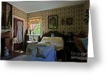 bedroom Anna Jarvis Greeting Card