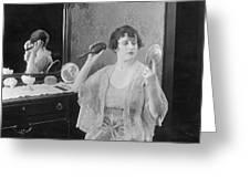 Bedroom Scene, 1920s Greeting Card